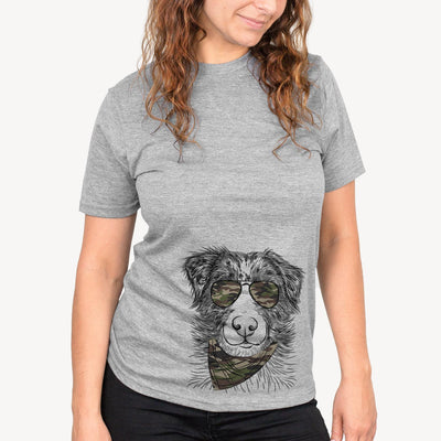 Gram the Australian Shepherd  - Camouflage Collection