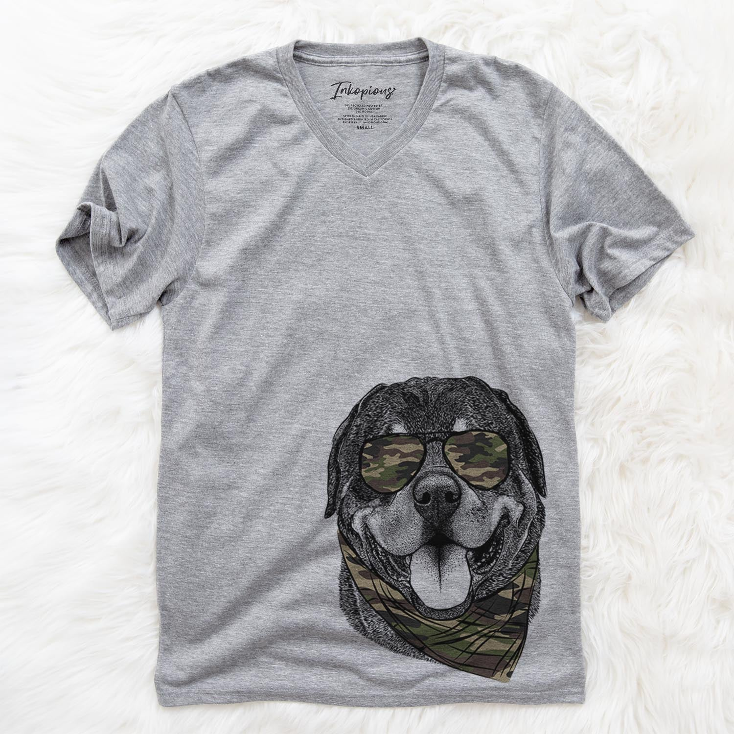 Hagan the Rottweiler  - Camouflage Collection