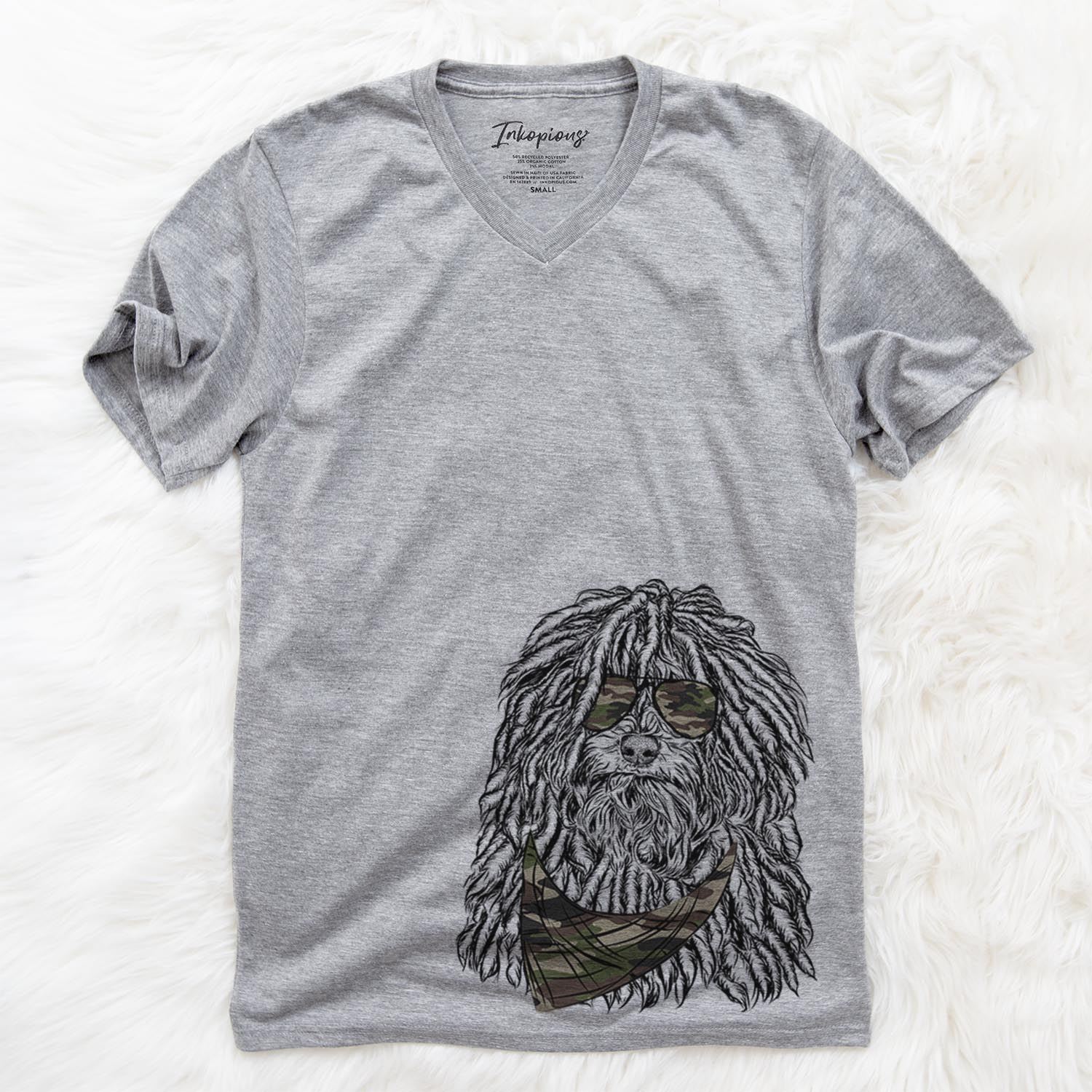 Rezi the Puli  - Camouflage Collection