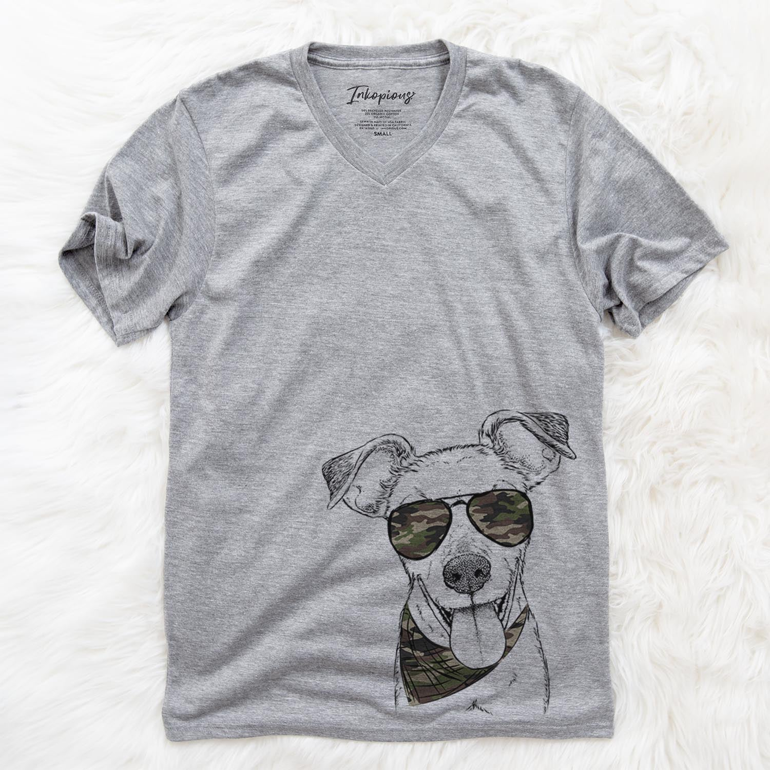 Tyler the Mixed Breed  - Camouflage Collection