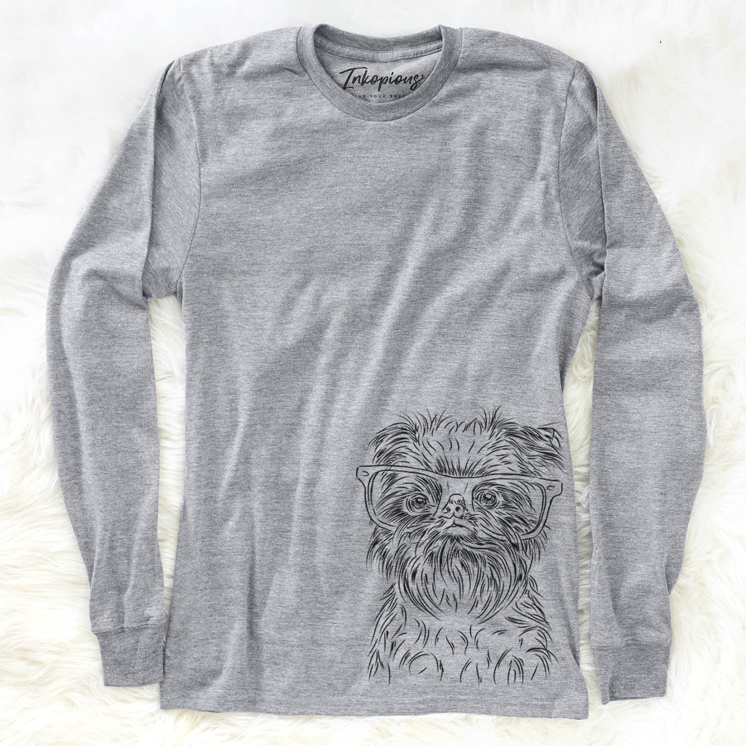 Alo the Brussels Griffon - Long Sleeve Crewneck