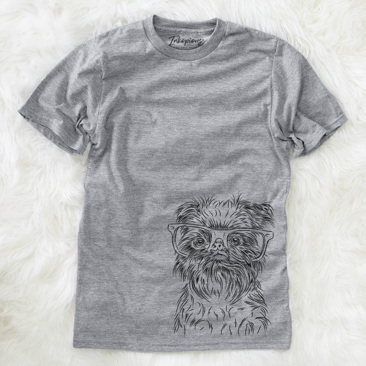 Alo the Brussels Griffon - Unisex Crewneck