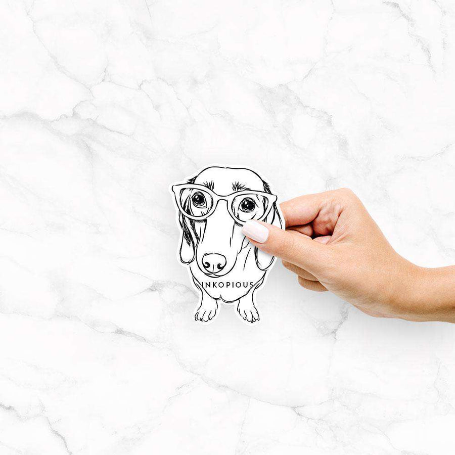 Annabelle the Dachshund - Decal Sticker