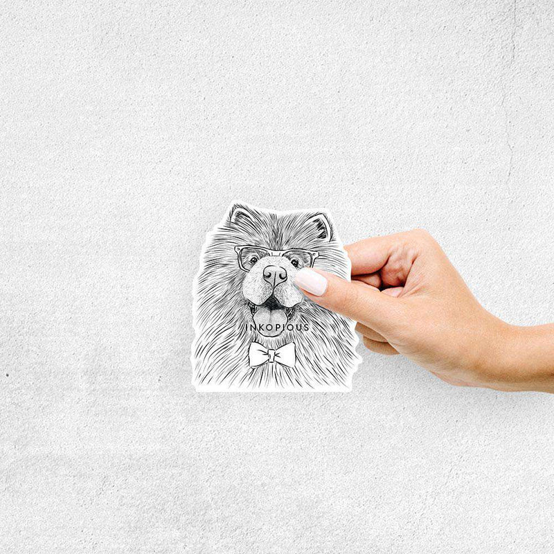 Charming Charlie the Chow Chow - Decal Sticker