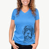 Doc Holliday the Pudelpointer - Women's Modern Fit V-neck Shirt