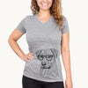 Feta the Mixed Breed - Women's Modern Fit V-neck Shirt