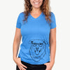 Freeley the Mixed Breed - Women's Modern Fit V-neck Shirt
