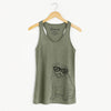 Higgins the Pug - Racerback Tank Top