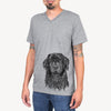 Jinx the Newfoundland - Unisex V-Neck Shirt