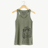 Logan the Cocker Spaniel - Racerback Tank Top