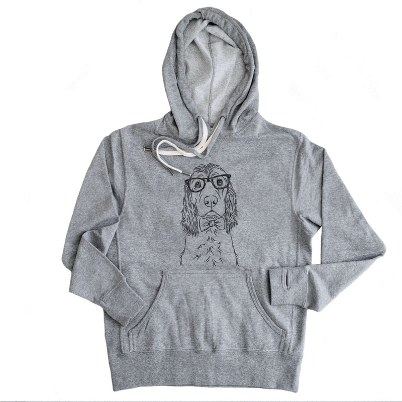 Logan the Cocker Spaniel - French Terry Hooded Sweatshirt