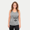 Lucky the Mixed Breed - Racerback Tank Top