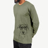 Peanut the Lab Mix - Long Sleeve Crewneck