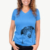 Sophia the Mixed Breed - Women's Modern Fit V-neck Shirt