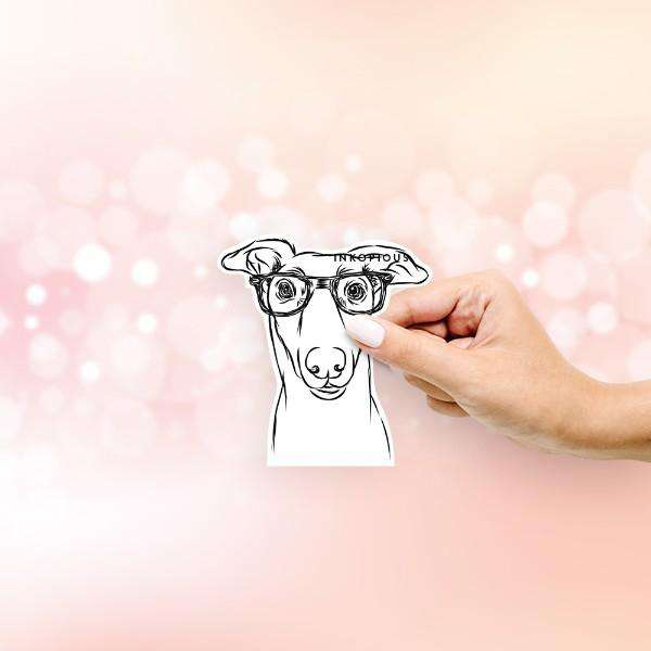 Diva the Greyhound - Decal Sticker