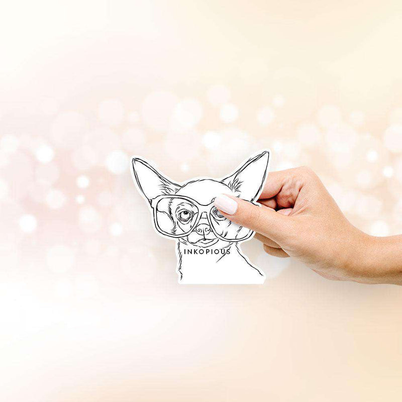 Tabitha the Chihuahua - Decal Sticker
