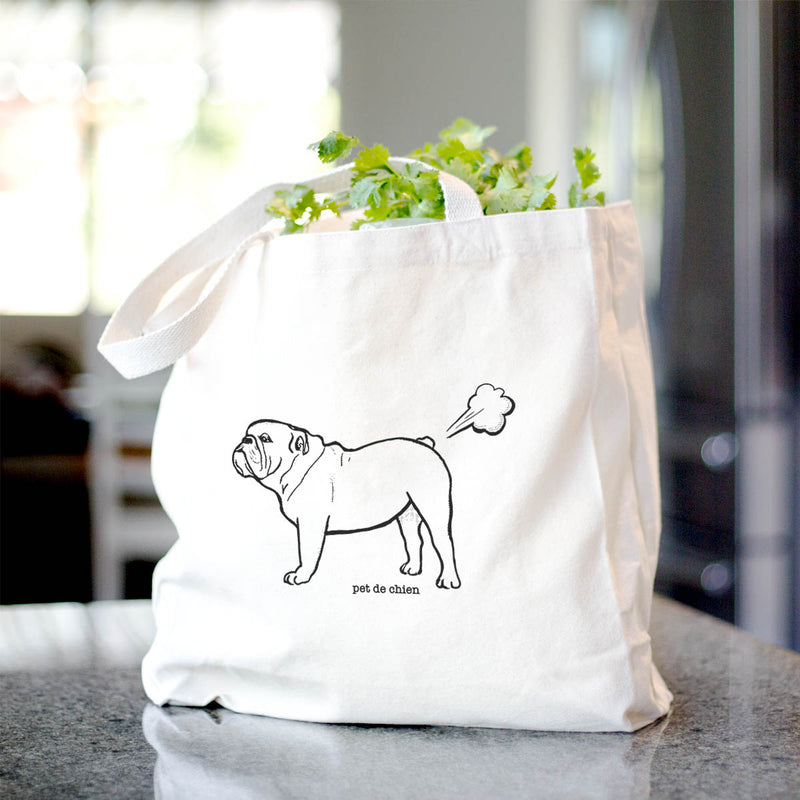Essence of Bulldog  - Tote Bag