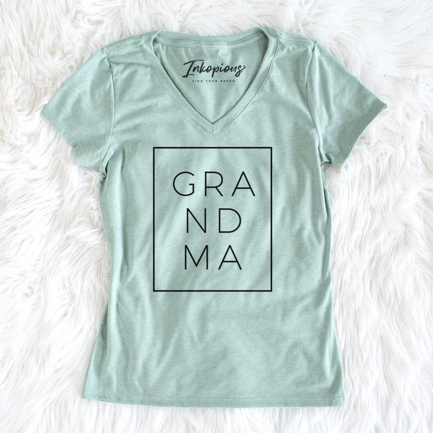 Grandma Boxed  - Women's Perfect V-neck Shirt