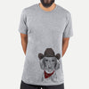 Almond the Wirehaired Dachshund  - Cowboy Collection