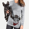 Bean the Boston Terrier  - Cowboy Collection