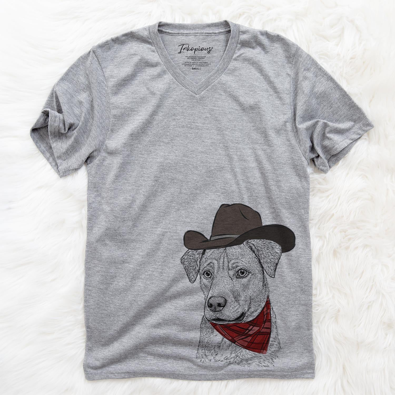 Feta the Mixed Breed  - Cowboy Collection