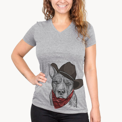 Mercy the Pitbull  - Cowboy Collection