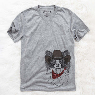 Patrick the Papillon  - Cowboy Collection
