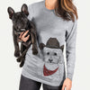 Stitch the Bichonpoo  - Cowboy Collection