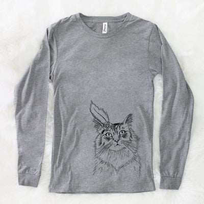 Chloe the Tabby Cat - Long Sleeve Crewneck