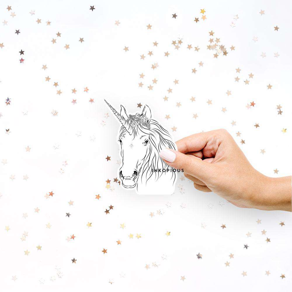 Cosmic Unicorn - Decal Sticker