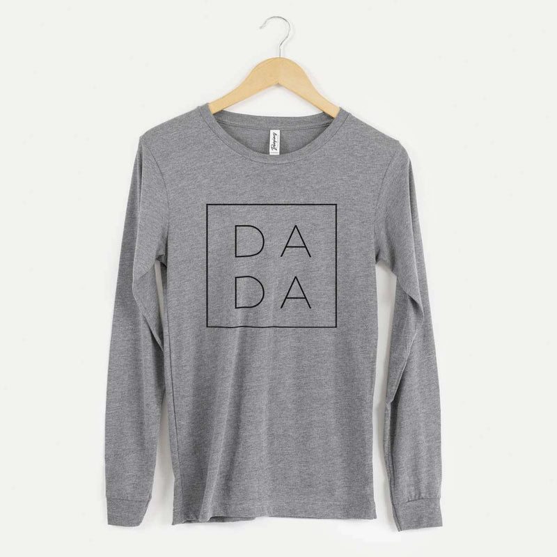 Dada Square - Long Sleeve Crewneck