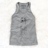 Doodled Amelia the Golden Retriever - Racerback Tank Top