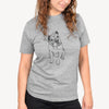 Doodled Archie the Olde English Bulldog - Unisex Crewneck