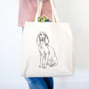 Doodled Eleanor the Italian Segugio - Tote Bag