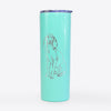 Doodled Eleanor the Italian Segugio - 20oz Skinny Tumbler