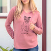 Doodled Elvin the Border Terrier - Cali Wave Hooded Sweatshirt