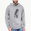 Doodled Finn the Bernedoodle - French Terry Hooded Sweatshirt