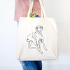 Doodled Gracie the Great Dane - Tote Bag