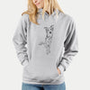 Doodled Kyu the Windsprite - Unisex Hooded Sweatshirt