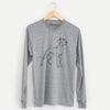 Doodled Layla the Great Dane - Long Sleeve Crewneck
