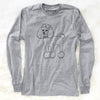 Doodled LouLou the Toy Poodle - Long Sleeve Crewneck