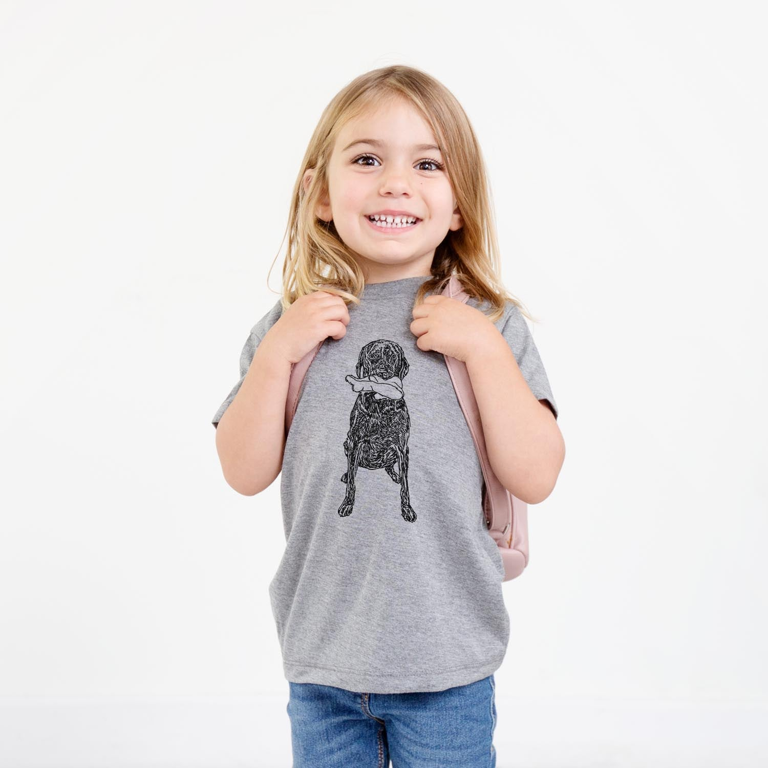 Doodled Lucy the Mixed Breed - Kids/Youth/Toddler Shirt
