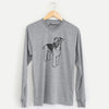 Doodled Nash the Airedale Terrier - Long Sleeve Crewneck