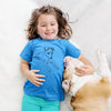 Doodled Rusty the Mixed Breed - Kids/Youth/Toddler Shirt