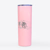 Doodled Stormy the English Pointer Puppy - 20oz Skinny Tumbler