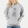 Doodled Tim Riggins the Vizsla - Unisex Hooded Sweatshirt