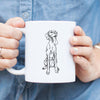Doodled Tim Riggins the Vizsla - Mug