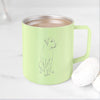 Doodled Barney the Labrador Retriever Mix- 14oz Metal Mug