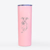 Doodled Cashie the Italian Greyhound - 20oz Skinny Tumbler