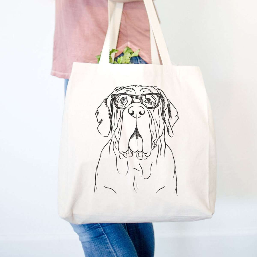 Dinah the Neapolitan Mastiff  - Tote Bag